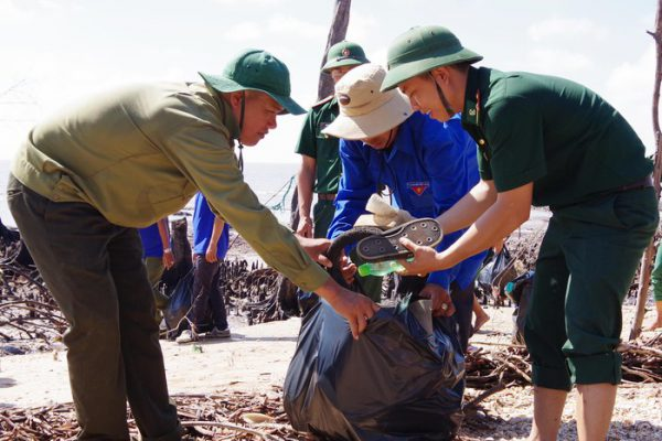 Joining hands to protect the marine environment