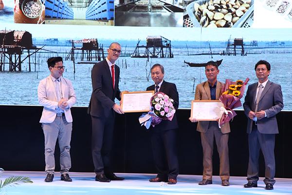 Chứng nhận ASC đầu tiên trên thế giới được trao cho sản phẩm ngao trắng Meretrix Lyrata của Việt Nam