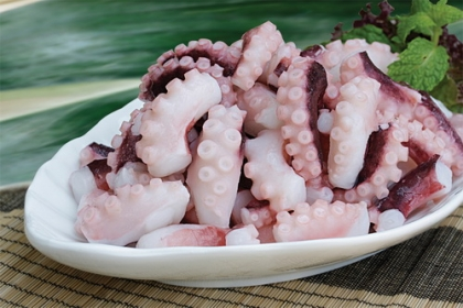 Export of squid and octopus to the US decreased