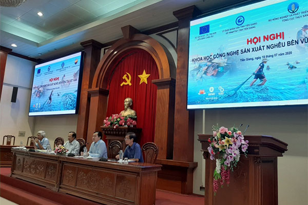 The Scientific and Technological Conference on Sustainable Clam Production in Viet Nam