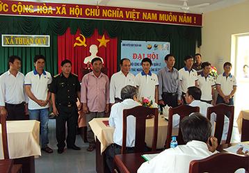 Lễ ra mắt Hội ngư dân quản lý, khai thác nguồn lợi Sò lông xã Thuận Qúy, Hàm Thuận Nam, Bình Thuận