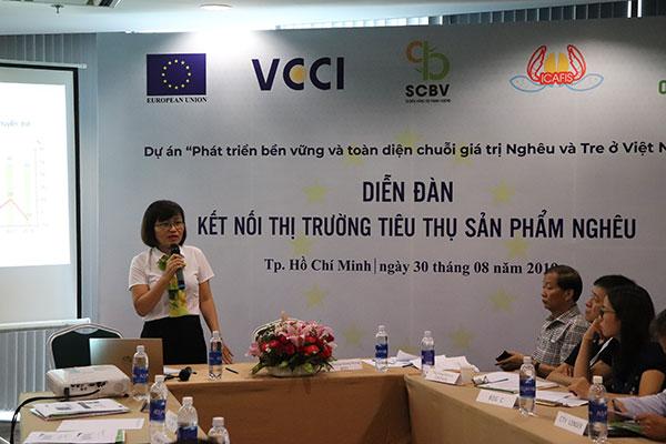 Phát triển bền vững và toàn diện chuỗi giá trị Nghêu ở Việt Nam