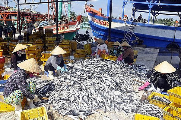 Total production of fisheries in the first 7 months increased by 1,5%