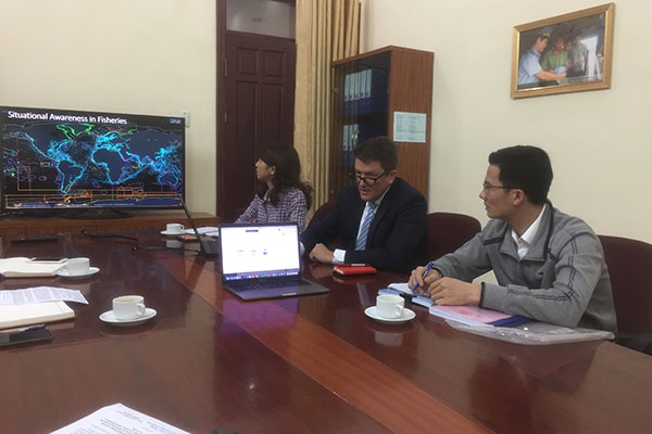 British technology company hopes to cooperate and support Vietnam